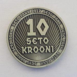 10 seto krooni - münt